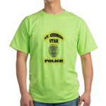 St George Police Green T-Shirt