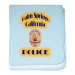 Palm Springs CA Police baby blanket