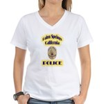 Palm Springs CA Police Women's V-Neck T-Shirt