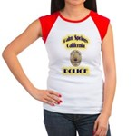 Palm Springs CA Police Women's Cap Sleeve T-Shirt