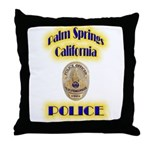 Palm Springs CA Police Throw Pillow
