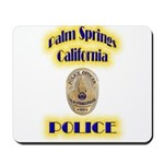 Palm Springs CA Police Mousepad