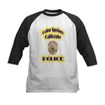 Palm Springs CA Police Kids Baseball Jersey