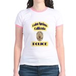 Palm Springs CA Police Jr. Ringer T-Shirt