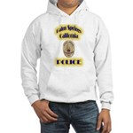 Palm Springs CA Police Hooded Sweatshirt