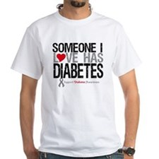 Someone I Love Has Diabetes Shirt