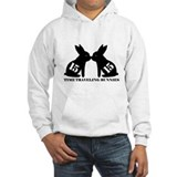 Cute Time traveling rabbits Jumper Hoody