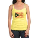Puerto Rican Pride Flag Ladies Top