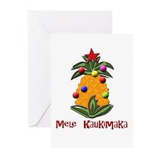 mele kalikimaka Greeting Cards (Pk of 10)