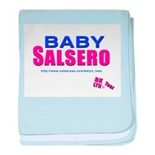 Cool Latin dancing baby blanket