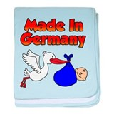 Made in Germany Boy baby blanket