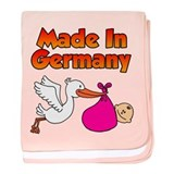 Made In Germany (Girl) baby blanket