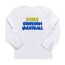 Little Swedish Meatball Long Sleeve Infant T-Shirt