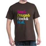 Sex & Drugs & Rock T-Shirt