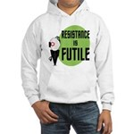 Resistance is Futile Hooded Sweatshirt