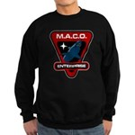 Enterprise MACO (large) Sweatshirt (dark)