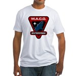 Enterprise MACO (large) Fitted T-Shirt