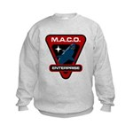Enterprise MACO (large) Kids Sweatshirt