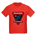 Enterprise MACO (large) Kids Dark T-Shirt