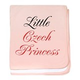 Little Czech Princess baby blanket