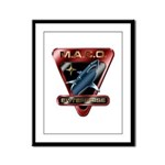 MACO (metallic) Framed Panel Print