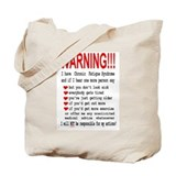 CFS WARNING! Tote Bag