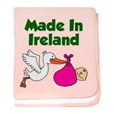 Made in Ireland Girl baby blanket