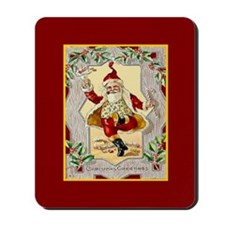 Dancing Santa Mousepad