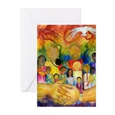 Born In His Heart Greeting Cards (Pk of 10)