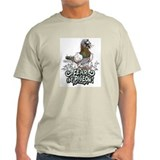 Fear the Pigeon Ash Grey T-Shirt