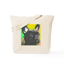 Brindle French Bulldog Tote Bag