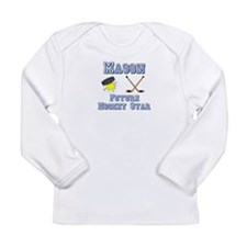 Mason - Future Hockey Star Long Sleeve Infant T-Sh