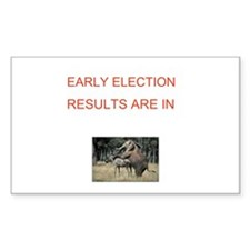 Cute Election results Decal