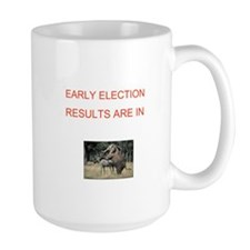 Cute Election results Mug