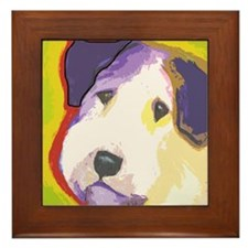 Sealyham Terrier Framed Tile