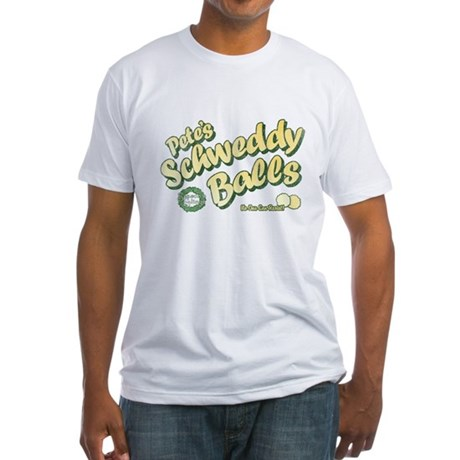 Schweddy Balls SNL Fitted T-Shirt