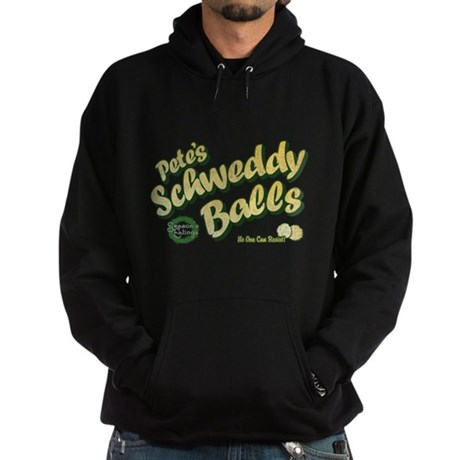 Schweddy Balls SNL Dark Hoodie