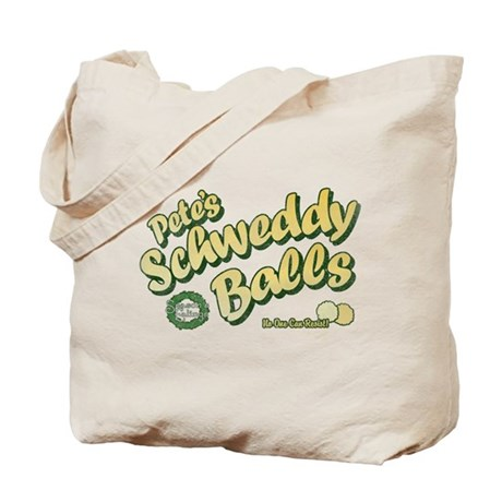 Schweddy Balls SNL Tote Bag