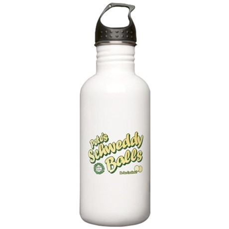 Schweddy Balls SNL Stainless Water Bottle 1 Liter