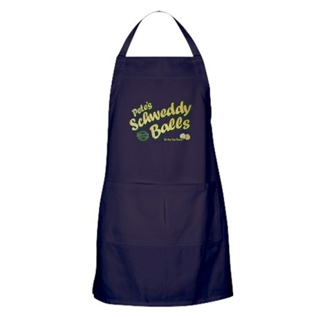 Schweddy Balls SNL Apron (dark)