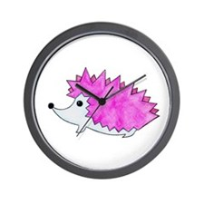 Hedgehog 1 Wall Clock