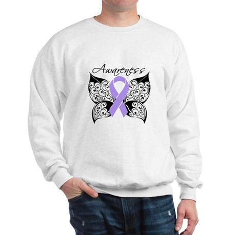 Butterfly Cancer Awareness Sweatshirt