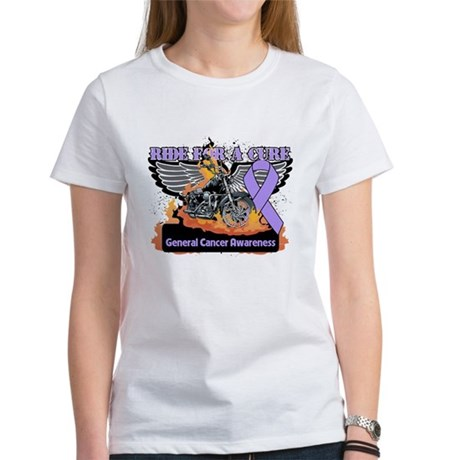 Cancer - Ride For a Cure Women's T-Shirt