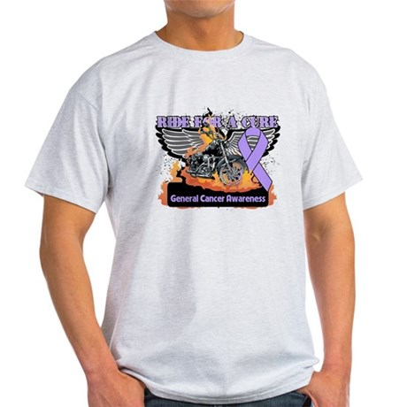Cancer - Ride For a Cure Light T-Shirt