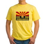 Arizona State Prison Yellow T-Shirt
