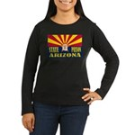 Arizona State Prison Women's Long Sleeve Dark T-Sh
