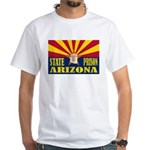 Arizona State Prison White T-Shirt