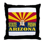 Arizona State Prison Throw Pillow