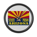 Arizona State Prison Large Wall Clock