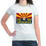 Arizona State Prison Jr. Ringer T-Shirt